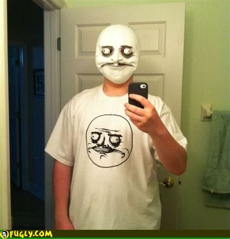 Troll Meme Mask - troll face tshirt mask fugly