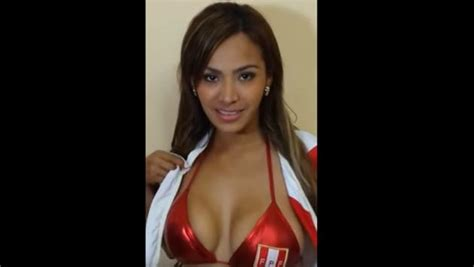 nissu cauti novia de la selecci 243 n peruana mostr 243