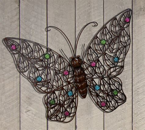 Metal Butterfly Wall Decor Garden 28 Images Chic Butterfly Garden Wall
