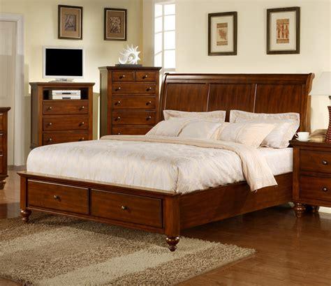 chatham storage bedroom set walnut finish ch777qb