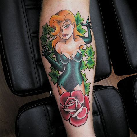 poison ivy tattoo best tattoo ideas gallery