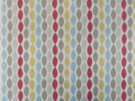 printable textile vinyl clarke clarke twist summer retro pvc oilcloth vinyl