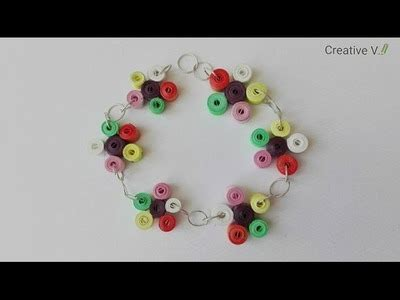 quilling tutorial in english quilling how to make quilling fringed flowers diy paper