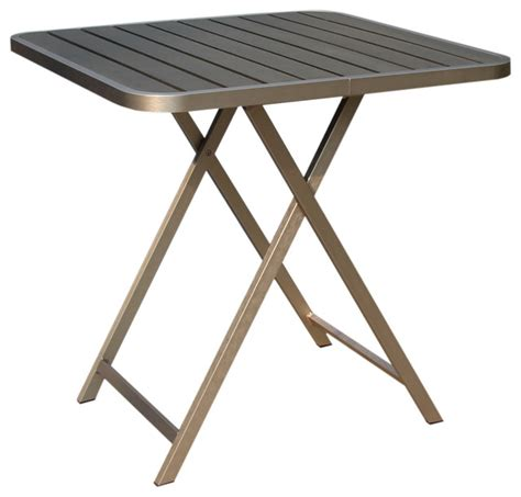 modern folding table boraam polylumber folding table contemporary folding tables by beyond stores