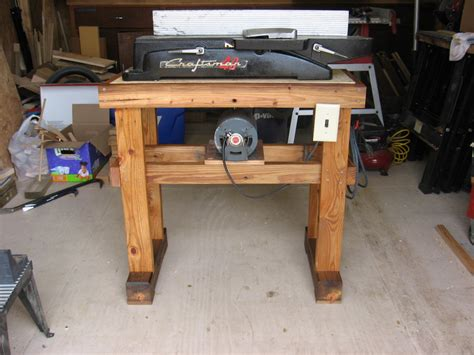 Table Jointer by New Table For An Craftsman Jointer By Kevin