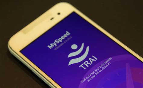 check speed mobile check your mobile speed with trai s new app