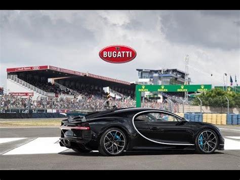 Bugatti Ceo Bugatti Ceo Drives New Chiron Faster Than A Race Car At Le
