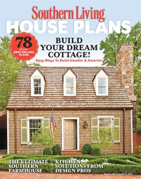 southern living house plans magazine digital
