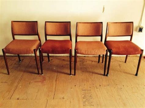 teak dining chairs craigslist authentic niels otto moller rosewood dining chairs 4