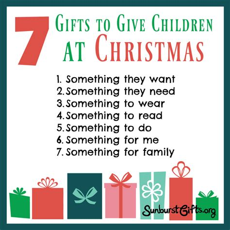 7 gifts to give children at christmas thoughtful gifts