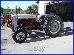 elenco dive 1959 ford 841 s tractor and loader withrare elenco 4 wheel