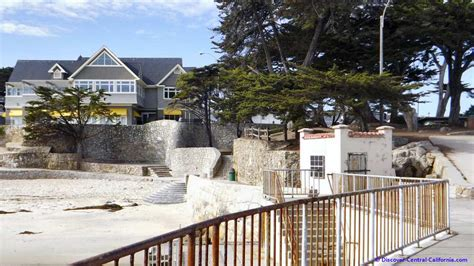 Lovers Point Park And Beach 4 Acres Of Recreational House Restaurant Pacific Grove