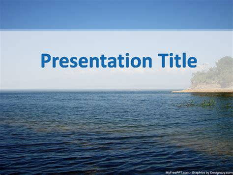 powerpoint themes river free river powerpoint template download free powerpoint ppt