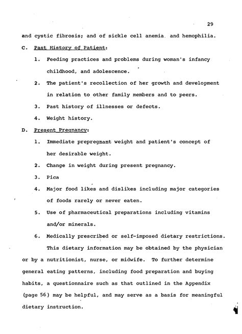 template of nutritional status criteria for the assessment of nutritional status in pregnancy nutrition in pregnancy and