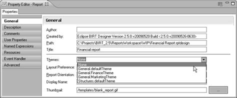 eclipse theme guide eclipse birt report developer guide galileo how to