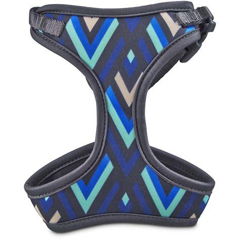 petco leash good2go aqua and blue chevron cat harness and leash set petco