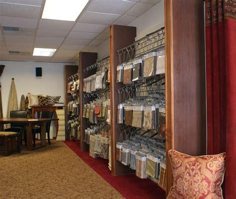furniture upholstery store interior design center and fabric workroom in east dundee il