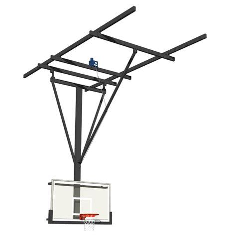 gymnasium basketball hoops 3d model formfonts 3d models