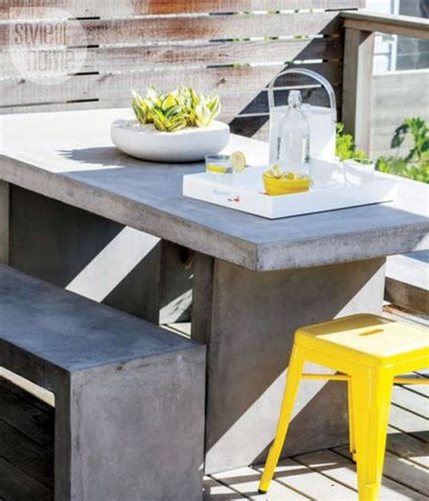 cement outdoor furniture 52 outdoor concrete furniture ideas comfydwelling