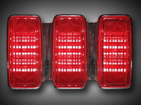 mustang led tail lights 1969 ford mustang led tail light kit new design ebay