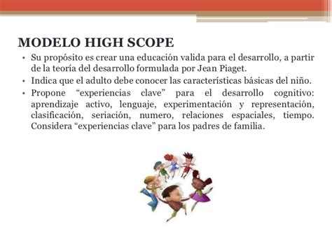 Modelo Curriculum High Scope Sesion 2 Aprestamiento