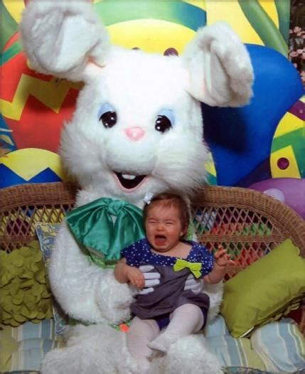 easter time avarde look hairstles 15 kids scared not charmed by the easter bunny parenting