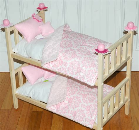 american girl doll bed doll bunk bed perfectly pink
