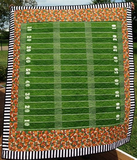 Football Quilts by Discover And Save Creative Ideas