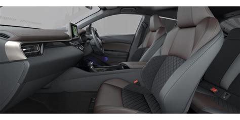 toyota c hr interior colors tax free car hub seychelles