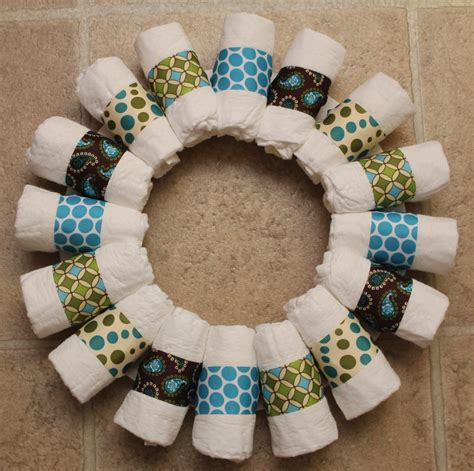 Baby Shower Wreath Tutorial by Sew In Wreath Tutorial