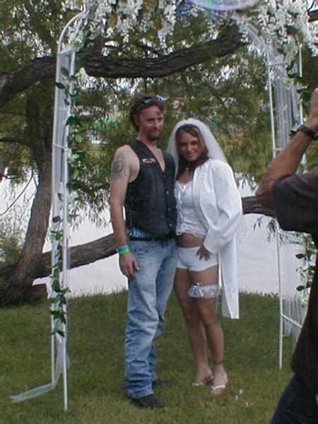 White Trash Wedding Dresses by Wedding Megan S Wedding