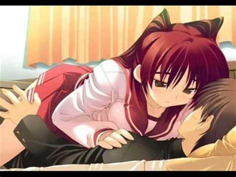 anime couple pp kiss me thru the phone anime couples youtube