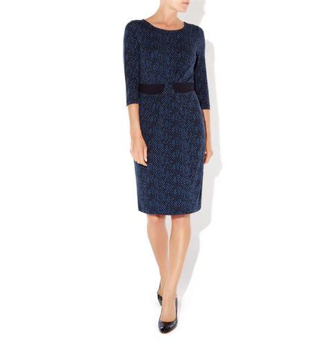 Nia Dress hobbs nia dress in blue lyst