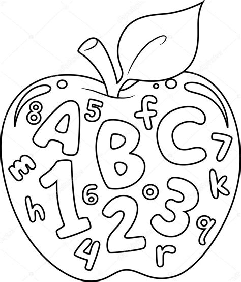 coloring pages with letters and numbers free numbers and letters coloring pages