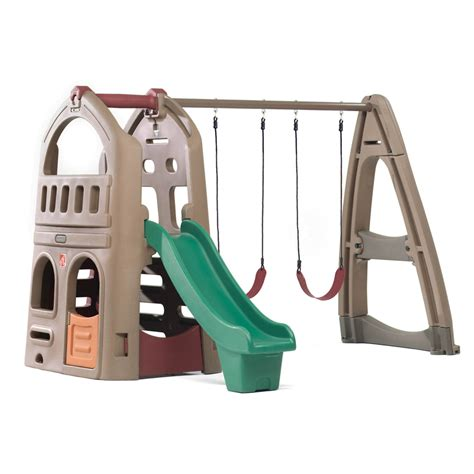 step2 swing shop step2 np playhouse climber and swing extension at
