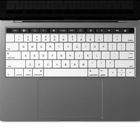 Keyboard Protector 15 4 Inch 95 keyboard protector cover apple macbook pro touch bar white