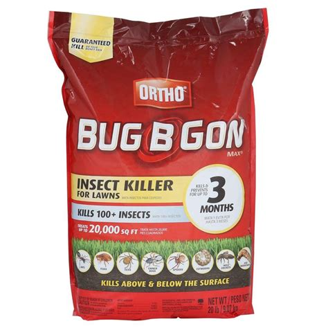 ortho bug b gon 20 lb max insect killer granules 0167324