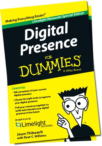 digital presence  dummies  limelight networks