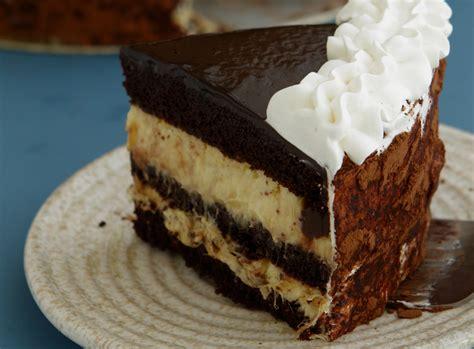 chocolate  durian cake  salted chocolate ganache
