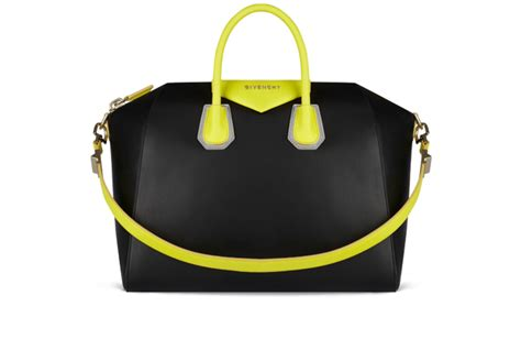 Bolbal Bag By Giv3ncy givenchy adds a touch of neon to its tote bags global blue