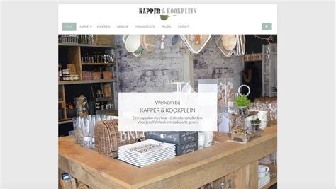Hardenberg Kapper by Kapper En Kookplein Gaaf Marketing Webdesign