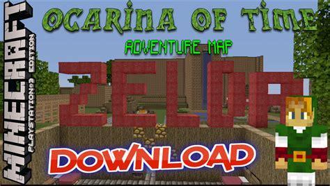legend of zelda adventure map minecraft pe zelda ocarina of time adventure map minecraft ps3