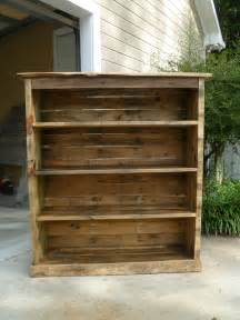 Pallet Bookshelves Bookcase Made From Pallets
