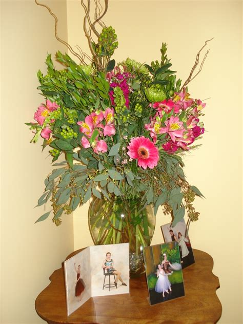 graduation arrangement fresh floral arrangements