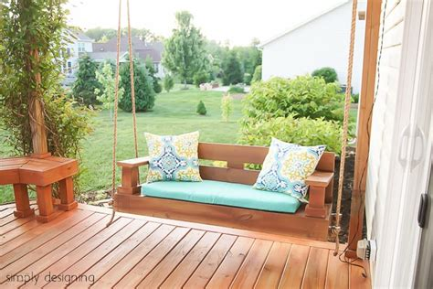 building a porch swing patio projects 7 ways to add style on a budget