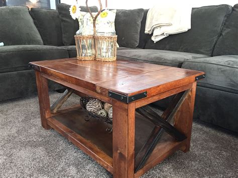 handmade rustic coffee table by richter ranch custom