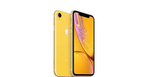 iphone xr gb yellow apple