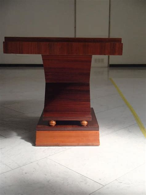 X Leg Console Table Deco Large Console Side Table X Leg Shape Rosewood For Sale At 1stdibs