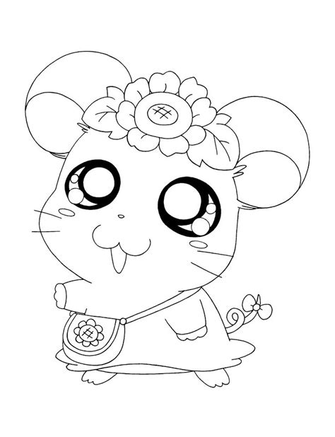 hamtaro coloring pages 18 best images about schattige diertjes on how