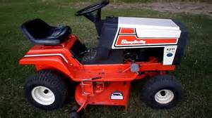 1985 simplicity 4211 11 h p 36 cut lawn tractor